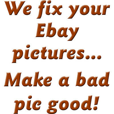 We Fix Your Ebay Photos, Make Listings Look Better, Pictures From Bad to Good