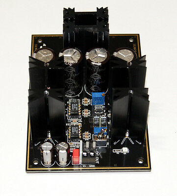 ULNPS-HC4 Ultra Low Noise, High Current Power Supply for High Quality Audio