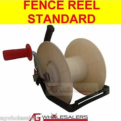 Wind Up Electric Fence Reel For Wire & Poly Wire / Tape - Strip Grazing