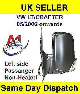 VW LT/Crafter 05/2006  Wing Mirror Manual Non-Heated Left Side