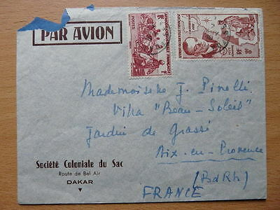 Lettre 1949 AOF