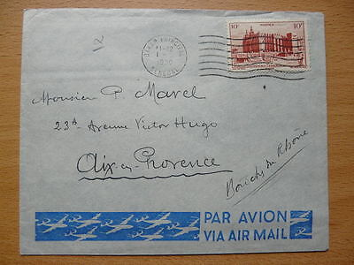 Lettre 1950 AOF