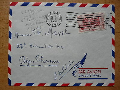 Lettre 1951 AOF
