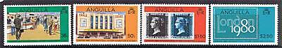 Anguilla 1979 London 1980 1st issue SG 384/7 MNH