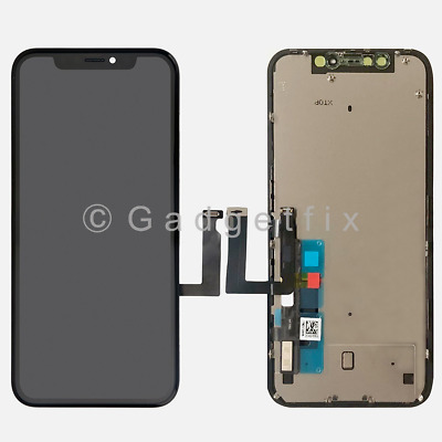 US For Iphone XR Display LCD Touch Screen Digitizer Frame Back Plate Replacement
