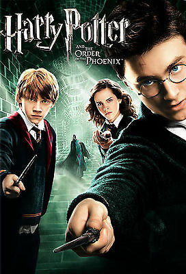 Harry Potter 5 Order Of The Phoenix (Dvd, 2007, Ws) New