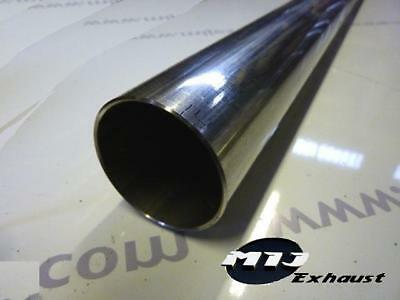 """750mm Exhaust Repair Pipe Perforated Tube Stainless T304 48mm 1.875/"""" x 30/"""""""