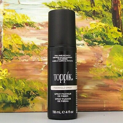 TOPPIK FIBER HOLD HAIR SPRAY 118ml / 4 oz NEW! FRESHEST ON EBAY!!!