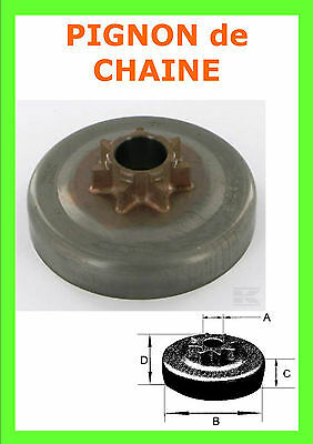 Cloche Embrayage de tronconneuse 325 7 Dents p/ HUSQVARNA - JONSERED (108308XW)