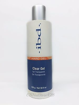 IBD Hard Gel Clear Gel 8oz/226g- #60308