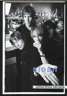 1999 Sloan JAPAN mag photo pinup mini poster / picture