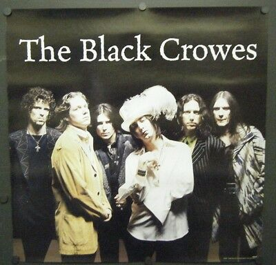 THE BLACK CROWES DOUBLE SIDED PROMO POSTER 1998