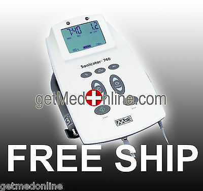 Mettler ME740 Sonicator Dual Frequency Ultrasound Therapy Unit w/5cm2 Applicator