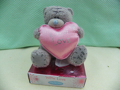 Me To You peluche ourson 7 cm *-* COEUR *-*