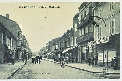 81 - CARMAUX - Route Nationale