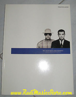 spartito PET SHOP BOYS DISCOGRAPHY singles collection NO cd lp mc vhs dvd