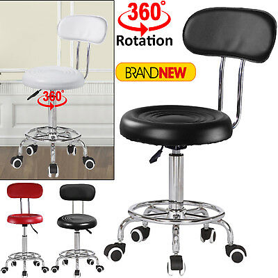 Adjustable Beauty Spa Salon Stool Barber Massage Tattoo Manicure Bar Chairs