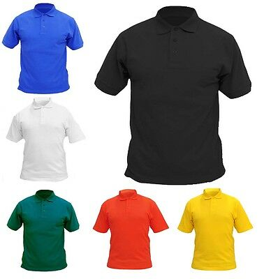 Boys & Girls Children Polo T Shirts Size 2 to 13 - SCHOOL LEISURE SPORTS / 103