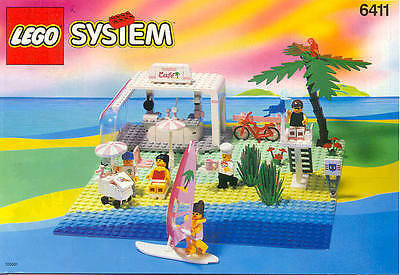 LEGO 6411 NUOVO - Anno 1992 - PARADISA - Sand Dollar Cafe - NEW