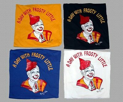 A Day With FROSTY LITTLE Clown T-Shirt Four Colors to Choose NEW Mens Sizes