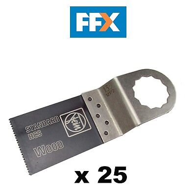 Fein 63502135025 Supercut 35mm x 50mm Standard Saw Blade x 25 Pack