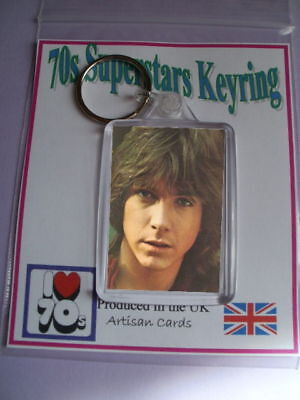 David Cassidy Super 70s Keyring