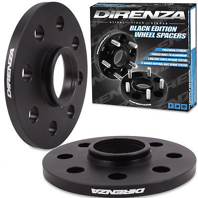 DIRENZA HUBCENTRIC ALLOY 10MM 4x100 WHEEL SPACERS FOR HONDA ACCORD CIVIC CRX