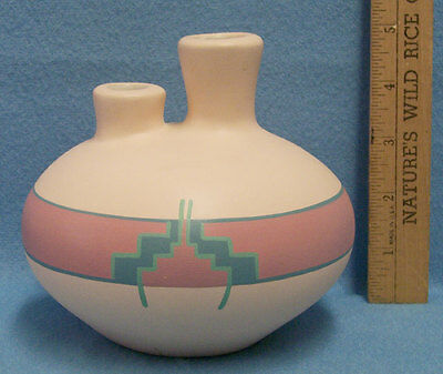Vintage Handcrafted Sandstone Vase Pottery Creation From Arizona USA