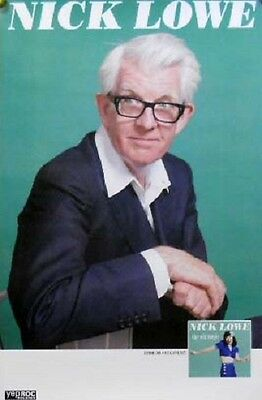 NICK LOWE POSTER, THE OLD MAGIC (S19)