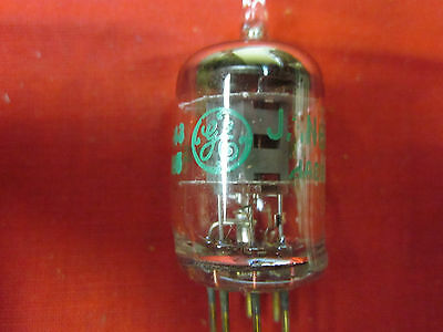 One NEW (NOS) General Electric (GE) JAN 6AK5WB tube fully tested on Hickok 539-C