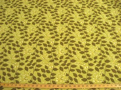 F659 Beige Red And Green Floral Vine Tapestry Upholstery Fabric By The Yard