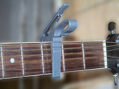 Capo Acoustic Electric Guitar ~ Trigger Style ~ Sturdy