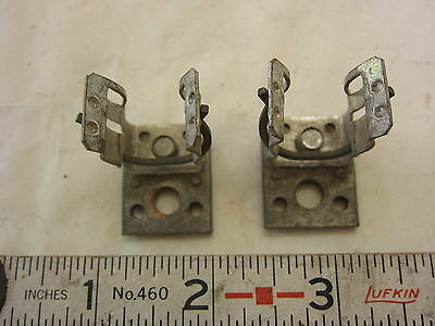 ILSCO M2434 30A 600V Fuse Clip Lot of 2, Used