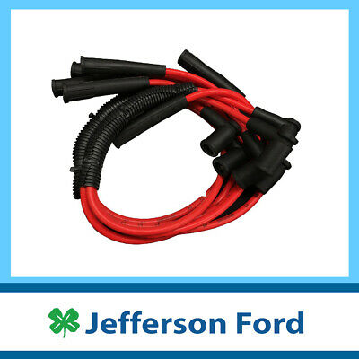 NEW GENUINE FORD AU FALCON IGNITION LEAD SET (series 2&3 only) SPARK PLUG LEADS