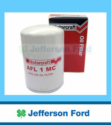 2 x NEW GENUINE FORD FALCON OIL FILTER XF EA EB ED EF EL AU BA