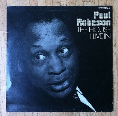 PAUL ROBESON The House I Live In LP/GDR