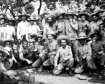 Spanish Prisoners 8X10 Photo Spanish-American War 1898