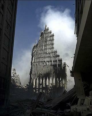 9/11 World Trade Center South Tower 8X10 Photo