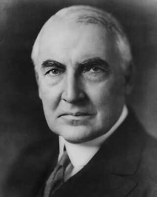 29Th U.s. President Warren G. Harding 8X10 Photo