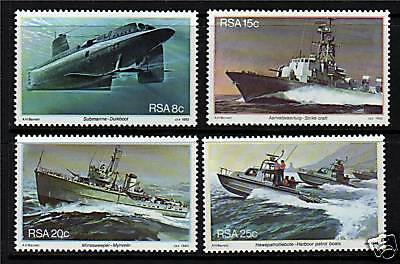 South Africa 1982 South African Navy SG 506/9 MNH