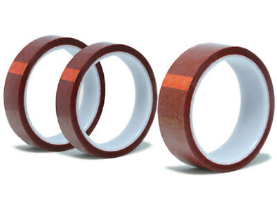 "Gold Kapton Tape Polyimide High Temp 1/4"" x 36yds 6mm"