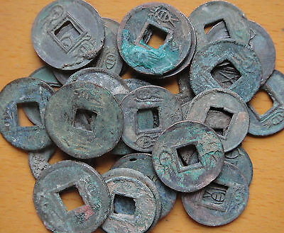 5 Pieces CHINA Ancient Coins Used in 9-24 AD
