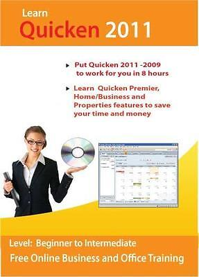 Learn Quicken 2011 and 2009 Premier Business Tutorial Training