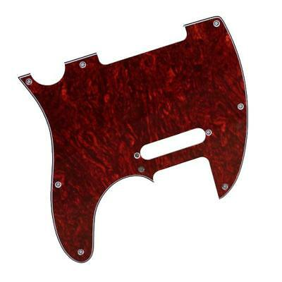 RED Faux TORTOISE SHELL SCRATCHPLATE PICKGUARD FOR FENDER TELECASTER Tele 3 Ply