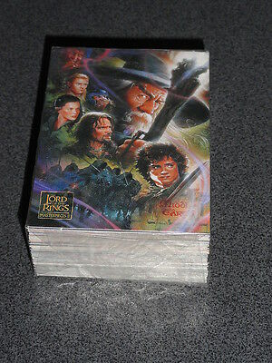 Topps The Lord Of The Rings Masterpieces S2 Base Trading Card Set