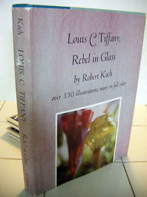 Louis C.Tiffany,Rebel in Glass 350 illus.+Color plates