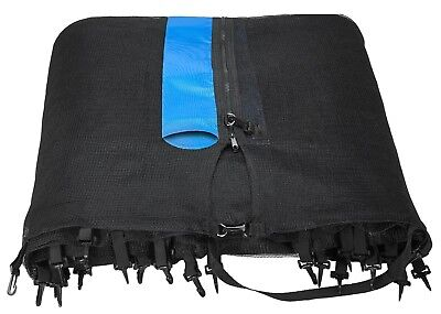12 FT. Trampoline Enclosure Net Fits 12' Round Frames Using 4 Straight Poles