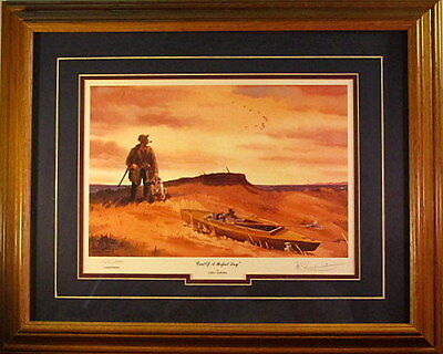 Les Kouba End of a Perfect Day Signed and Numbered Framed Print