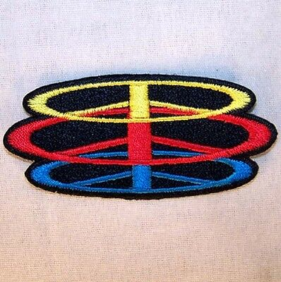 STACKED PEACE SIGN EMBRODIERED PATCH P604 new jacket new bikers item novelty