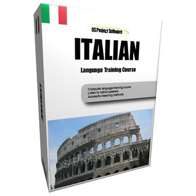 Learn To Speak Italian Language Training Course Pc Dvd New